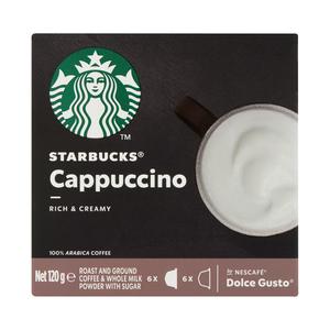 Starbucks® Cappuccino by Nescafé® Dolce Gusto® Coffee Capsules box of 12