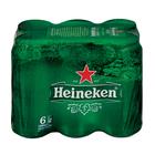 Heineken Lager Cans 440ml x 6