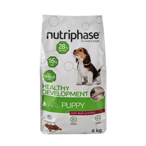 Nutriphase Beef & Rice Puppy Dog Food 6kg