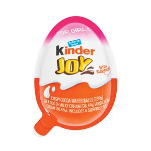 Kinder Joy Girls Chocolate Egg 21g