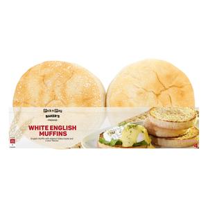 PnP White English Muffin 4s