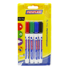 Penflex Fine White Board Mar ker 4