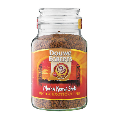 Douwe Egberts Mocha Kenya Style Coffee 200g Each Unit Of
