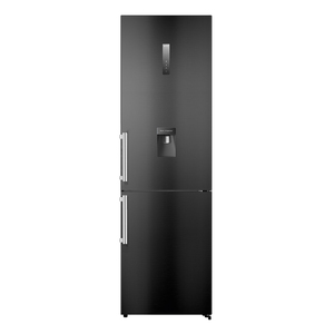 Hisense Combi Fridge  410l Black With Water Dispenser