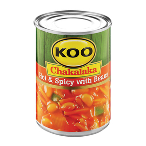 Koo Chakalaka Beans Hot & Spicy 410g