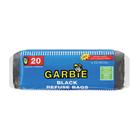 Garbie Black Refuse Bags on Roll 22mic 20s