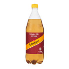 Schweppes Ginger Ale Plastic Bottle 1l