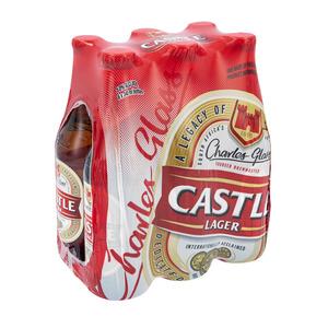 Castle Lager Bottle 340ml x 6
