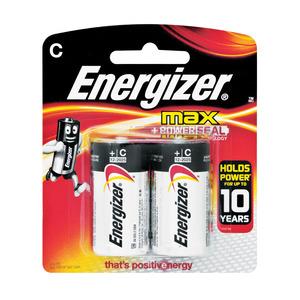 Energizer Batteries Max C 2ea