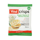 Vital Crisps Cream Cheese 20gr