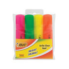 BIC Highlighters in Wallet 4s