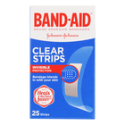 Band-aid Clear Plaster Strip s 25