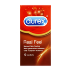 Durex Real Feel 12's