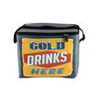 Leisure-quip Retro Cold Drinks Cooler Bag