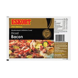 Eskort Diced Bacon 200g