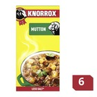 Knorrox Mutton Stock Cubes 6s