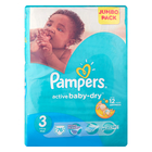 Pampers Active Baby Nappies Midi Jumbo Pack 76s