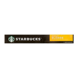 Starbucks® Blonde Espresso Roast by Nespresso® Blonde Roast Coffee 10 Capsules