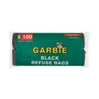 Garbie Refuse Bags Black 100s 750mm x 950mm