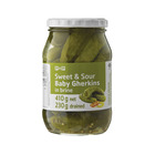 PnP Sweet And Sour Baby Gherkins 410g