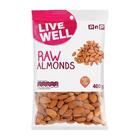 PnP Almonds Raw 400g