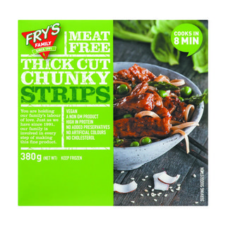 Fry's Vegetarian Chunky Stri Ps 380 Gr