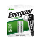 Energizer Recharge AAA Batteries 2s