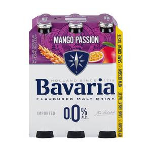Bavaria Malt 0% Mango Passion Fruit NRB 330ml x 6
