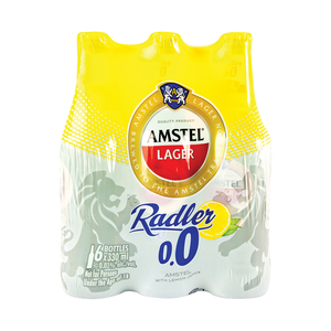 Amstel Radler 0.0% Non Alcoholic Beer 330ml x 6