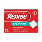 Rennie Spearmint Antacid Tablets 96ea