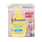 Johnson's Extra Sensitive Baby Wipes 288s