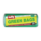 Tuffy Green Refuse Bags Roll 750x950mm 20ea