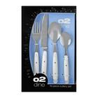 O2 Dine 16 Piece Mod Cutlery Set