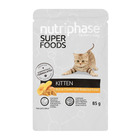 NUTRIPHASE KITTEN W/CHICK PUREE 85GR