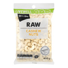 PnP Live Well Raw Cashew 400g