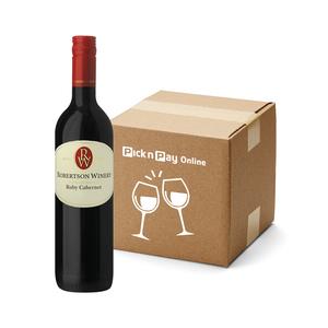 Robertson Winery Ruby Cabernet 750ml x 6