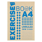 PnP A4 72 Page Quad And Margin Exercise Book