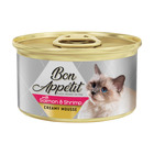 Bon Appetit Cat Food Salmon & Shrimp 85gr