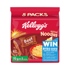 Kellogg's Beef Flavoured Noodles 5s x 8