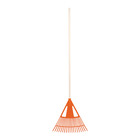 Addis Fan Leaf Rake Orange