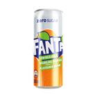 Fanta Orange Zero 300ml Can x 24