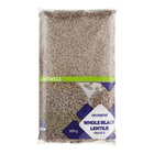 NO NAME BLACK LENTILS 500GR