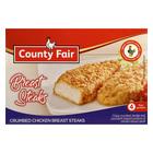 County Fair Crumbed Chicken Breast Steaks 400g