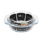 O2 Cook 1l Round Casserole With Lid