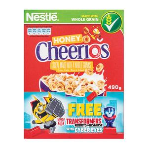 Nestle Cheerios Honey 490g