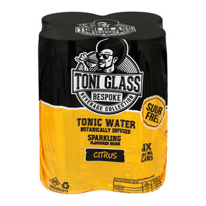 Toni Tonic Citrus S/free 250ml x 4