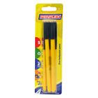 Penflex Pen Fine Black 5ea