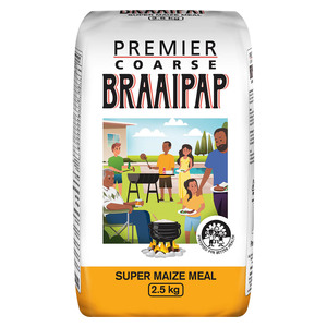 Premier Traditional Coarse Braaipap 2.5kg
