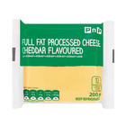 PnP Full Fat Processed Cheddar Cheese Slices 200g