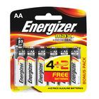 Energizer Max AA Alkaline Batteries 4+2 Free